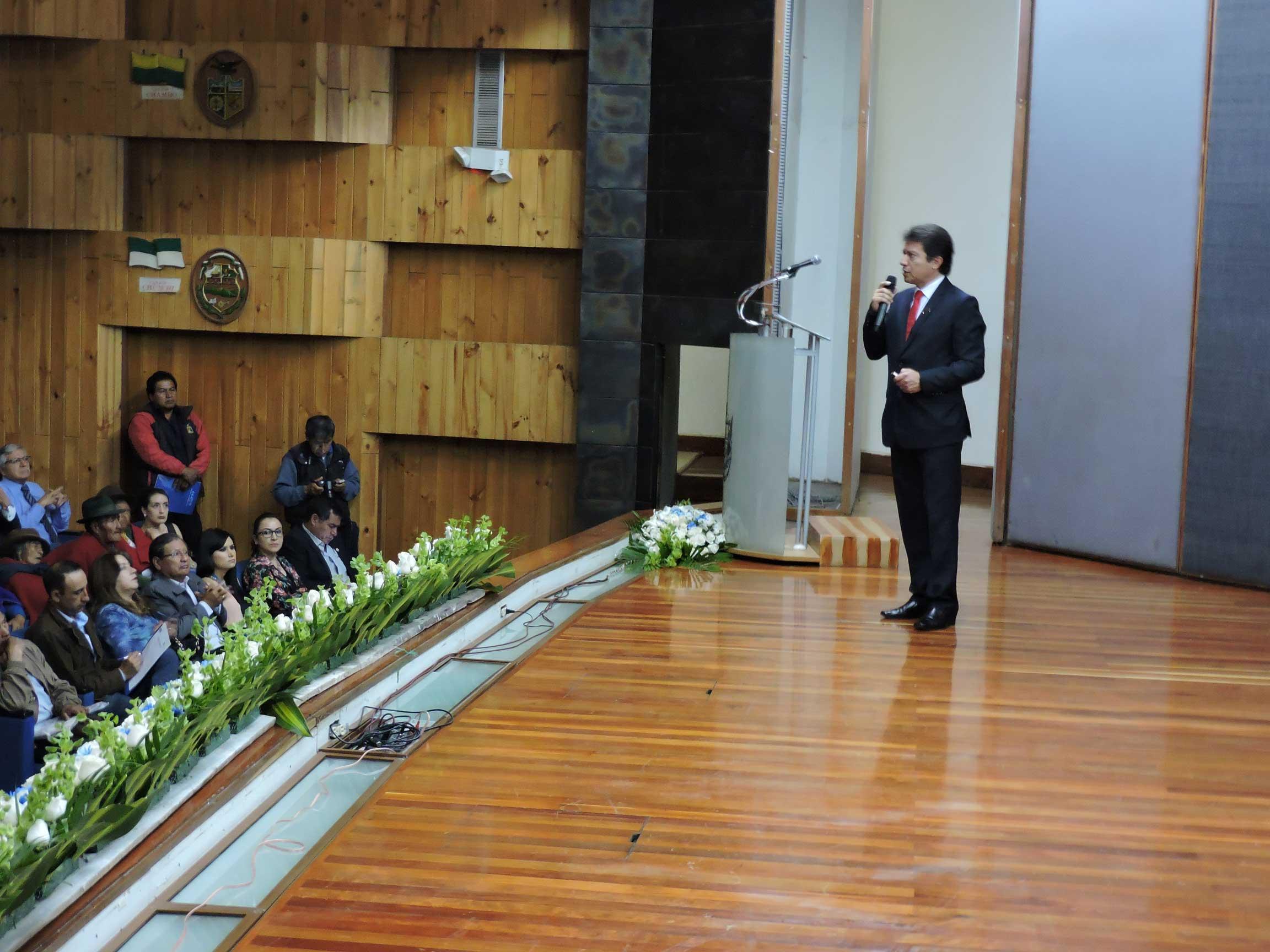 EERSA rindió cuentas de su gestión en Chimborazo