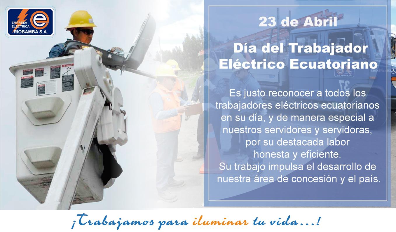 Día del Trabajador Eléctrico Ecuatoriano