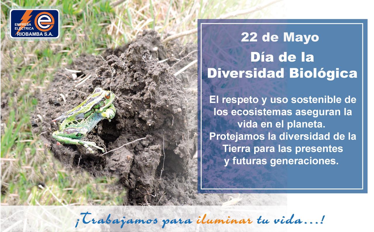 22 de Mayo Día de la Diversidad Biológica