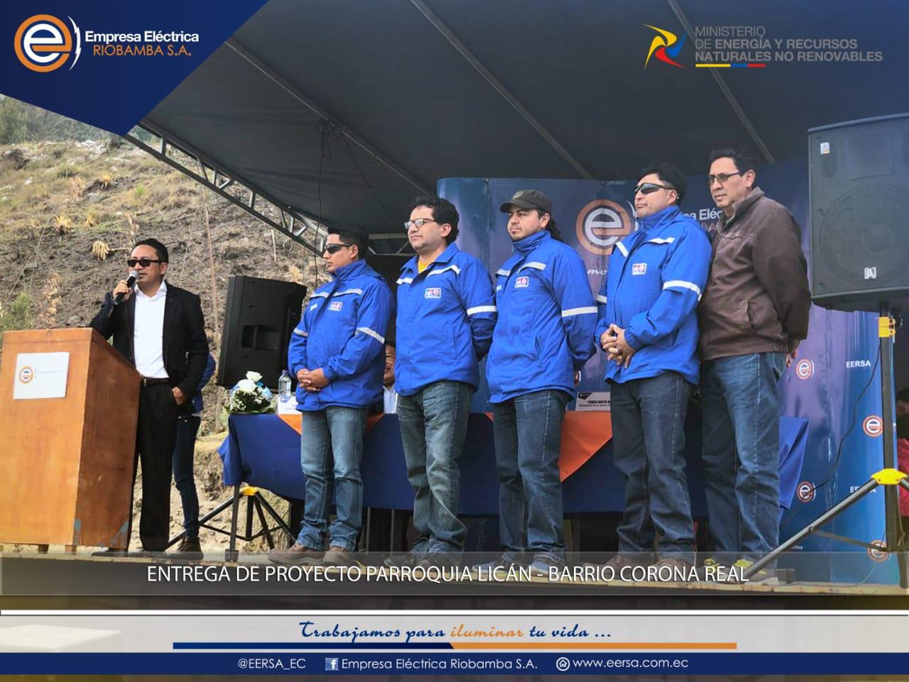 EERSA inauguró proyecto eléctrico en Bellavista del Sur