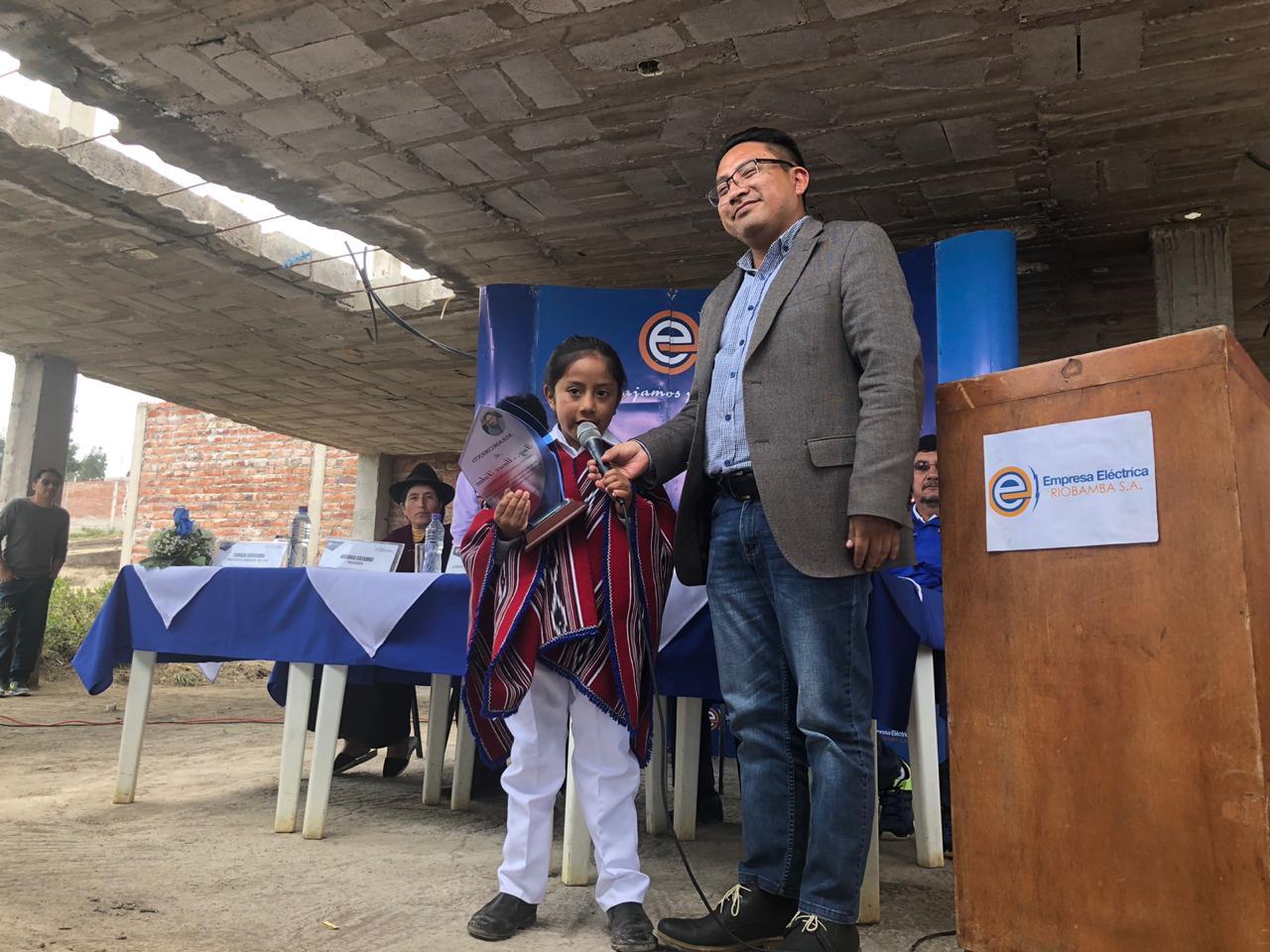 EERSA inauguró obras en Riobamba y Guamote