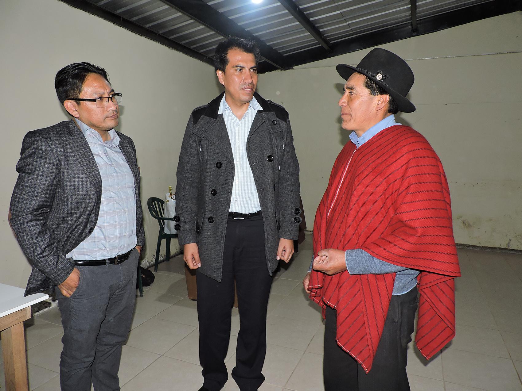 Representantes del Ministerio de Energía y la EERSA realizaron visitas técnicas