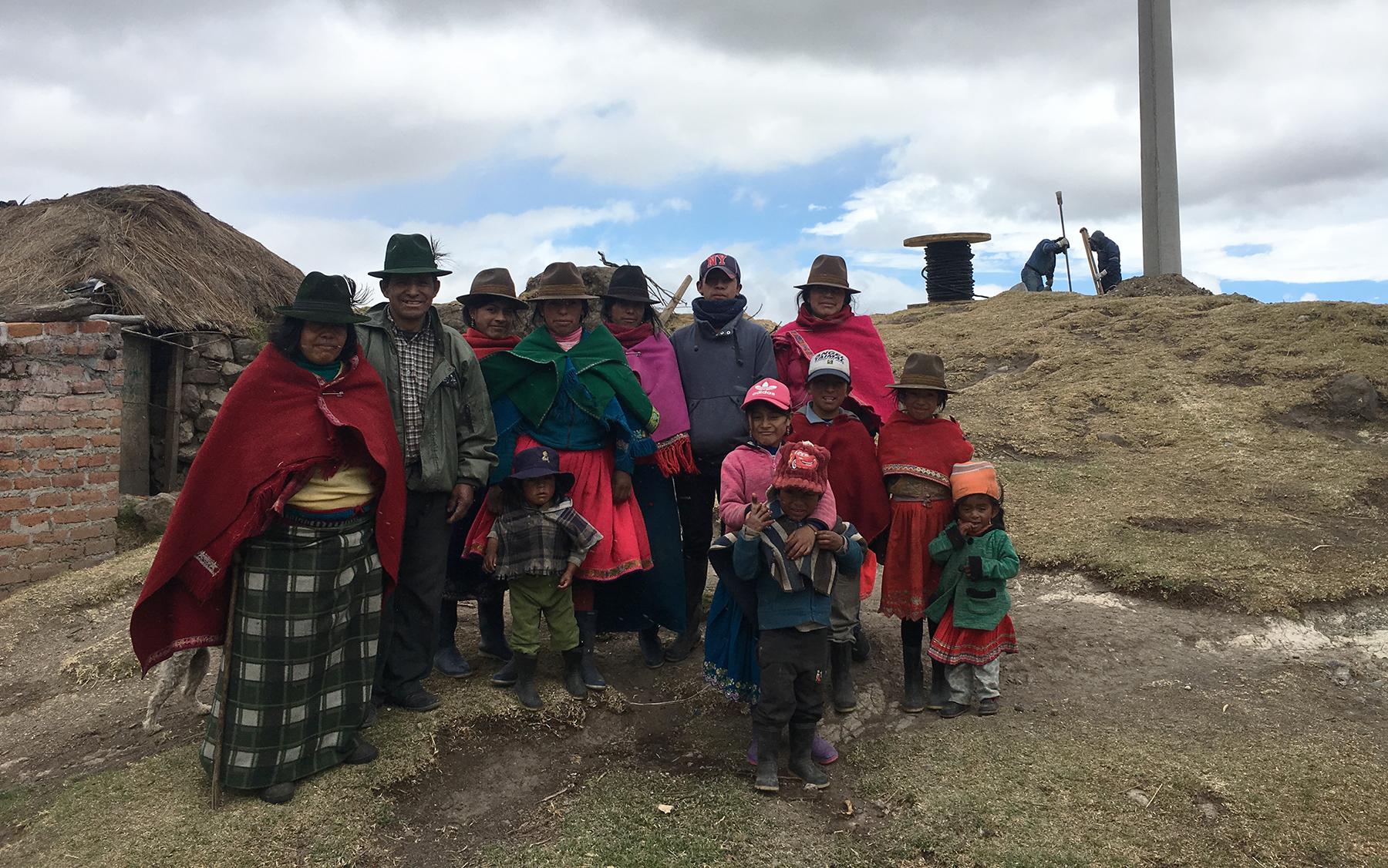 EERSA cumple el sueño de la familia Roque Padilla mediante proyecto eléctrico