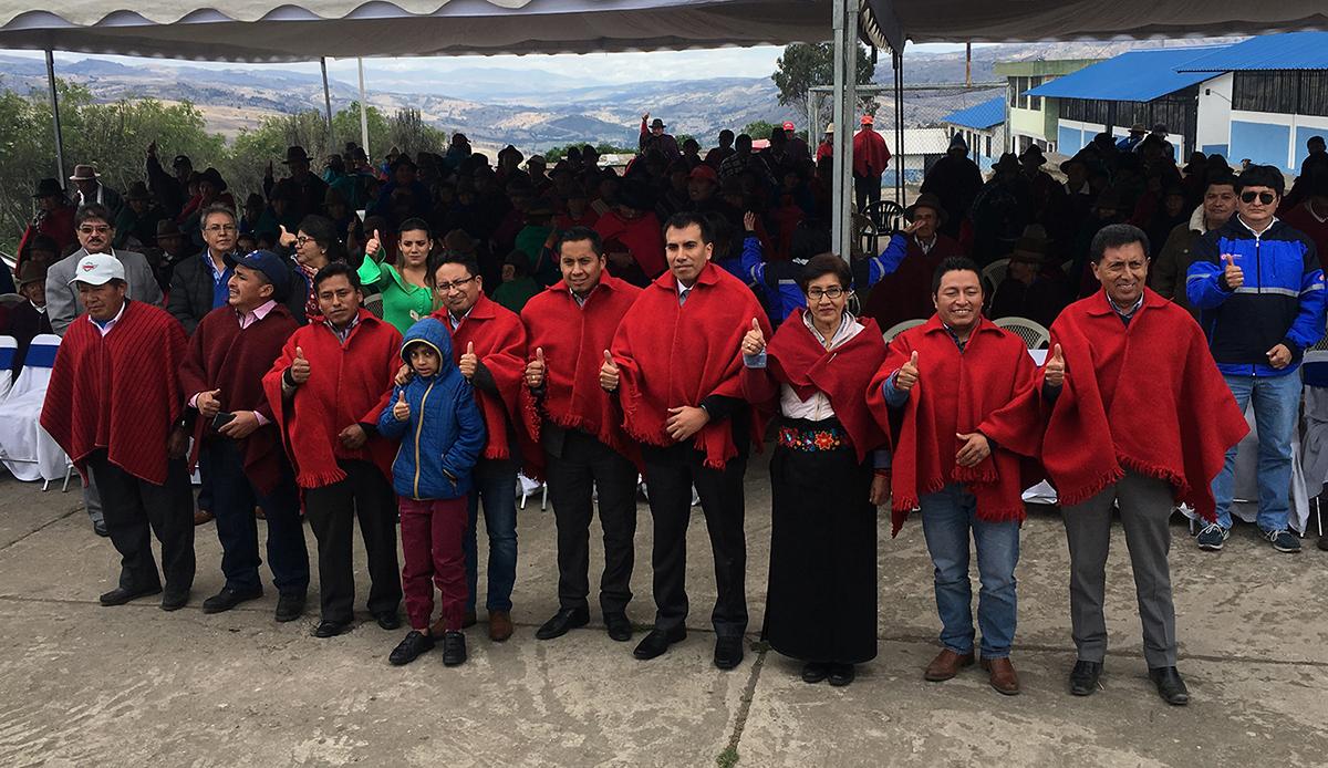 Naubug y Sanancahuán Alto reciben obras eléctricas ejecutadas por la EERSA