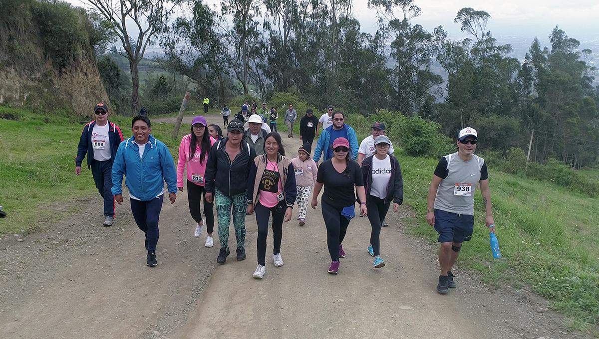 Caminata y carrera EERSA se efectuó en Río Blanco