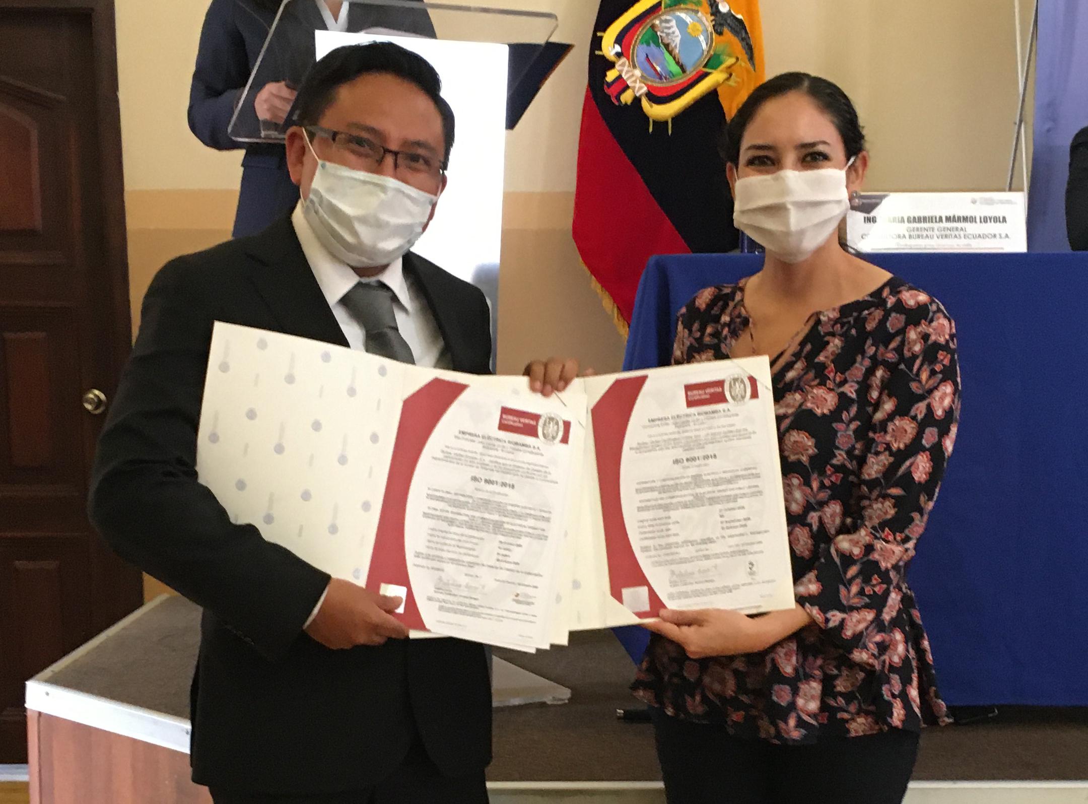 EERSA recibió certificación internacional al Sistema de Gestión de la Calidad