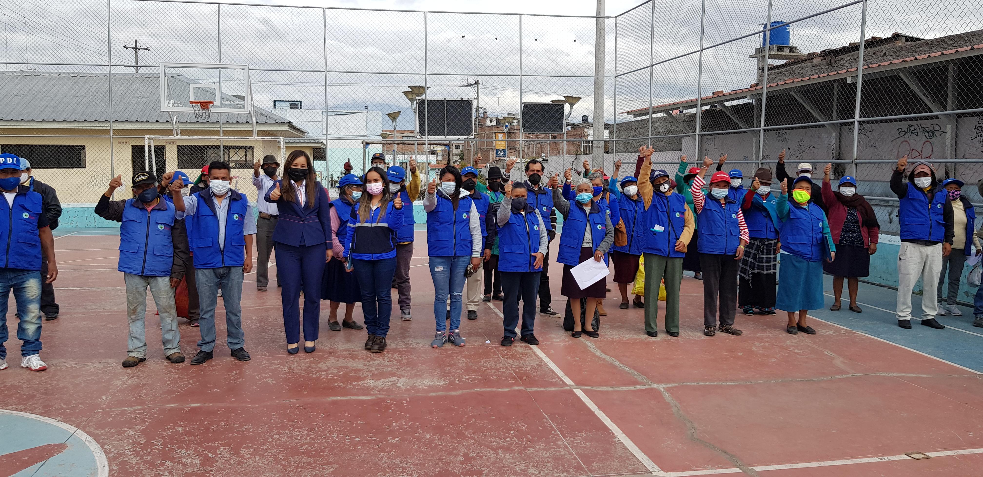 EERSA apoya a recicladores en Riobamba