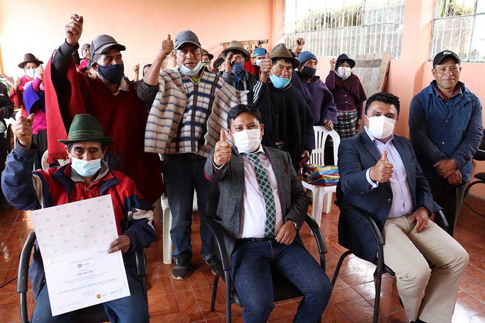 350 habitantes de Santa Rosa de Gaunán beneficiados con proyecto eléctrico