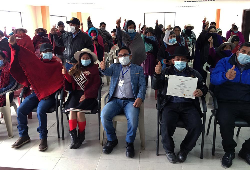 500 moradores de Peltetec beneficiados con proyecto eléctrico