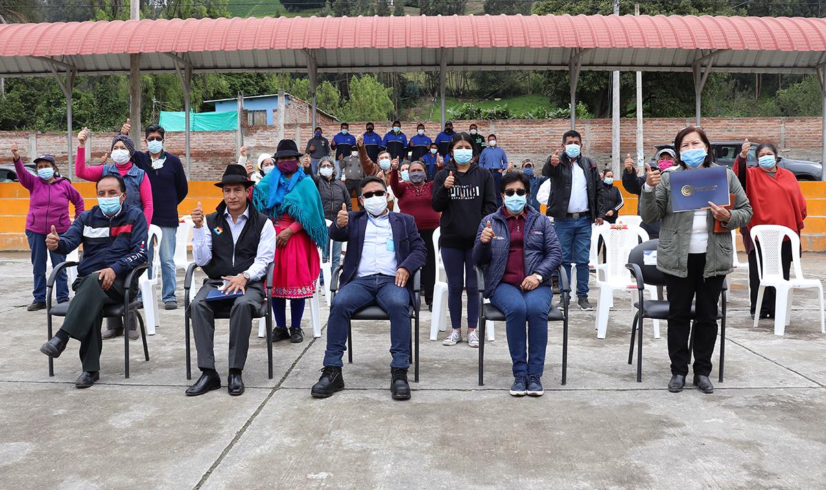 USD 198 mil invertidos por EERSA en comunidades de Riobamba