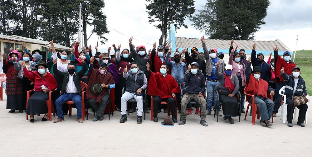 Más de USD 460 mil invertidos por EERSA en comunidades de Chimborazo