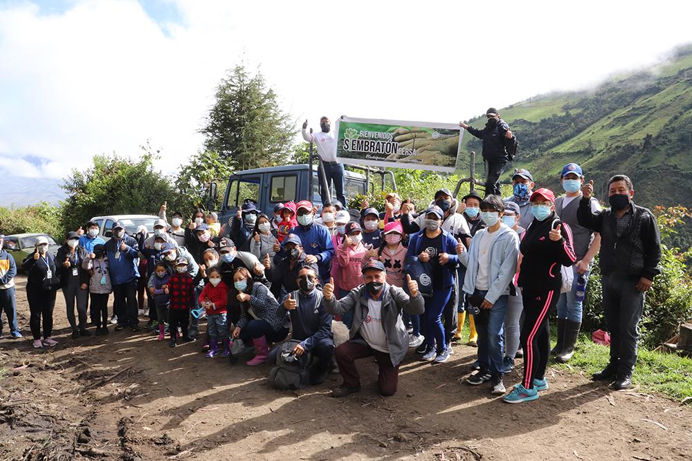 EERSA celebró el Día del Ambiente con Siembratón