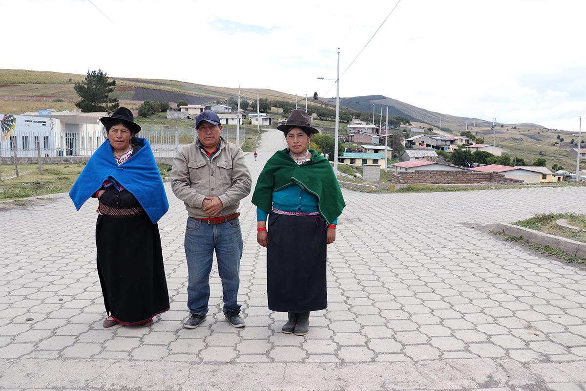 600 habitantes de Guamote beneficiados con proyecto eléctrico